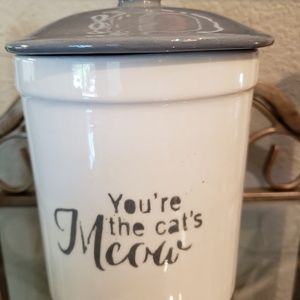 Cat Treat Cannister